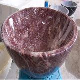 Различные мраморный верхние части тазика мытья раковины/гранита встречные/тазик постамента гранита