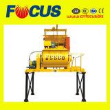 Misturador concreto do eixo gêmeo pequeno de Js500 500L com capacidade 25m3/H