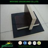 Encofrados de madera contrachapada con Blacl, película de color marrón para la construcción