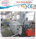 Machine écologique d'extrusion de WPC, chaîne de production composée en plastique en bois
