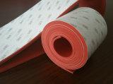 Folha de espuma de silicone resistente ao envelhecimento com cola de 3m