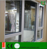 Одиночное застекляя алюминиевое окно поворота наклона профиля сделанное в Китае