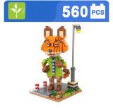 Animal Zootopia Nick blocs série modèle de jouet