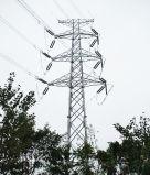 Tour de transmission d'énergie électrique en acier