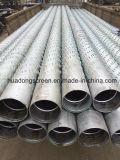 La norma ASTM A53 6'' 5/8 espesor 4,5 mm de tubo del filtro de ranurado de Bridge