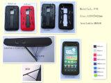 1材料のパソコン+ TPRに付き3 +シリコーンの電話カバー、iPhone 5 (SI-01)のための言い分
