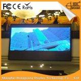 고쳐진 실내 P1.9는 전시를 광고하는 LED를 설치한다