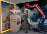 360 grados de hologramas en 3D Expositor/ Holo Pirámide/ Escaparate holográfica// proyector pantalla Holo Holo