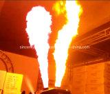 ディスコのナイトクラブの段階効果5ヘッドDMXのスプレーの火の炎プロジェクター機械