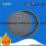 Mais popular SMC reforçado Plastic Road Composite Gully Manhole Cover