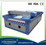 Machine acrylique de laser en verre 3D de forces de défense principale en bois