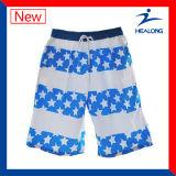 Disegno fresco di Healong che copre gli Shorts della spiaggia degli uomini di stampa di Digitahi da vendere