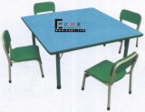 子供Furniture Colorful U Shape Children DeskおよびChairs (GT-83C)
