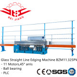 PLC vidrio de control Striaght Línea ribete máquina (Bzm11.325pw)