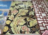 ローズの花模様のガラスモザイク模様の壁のタイル(HMP643)