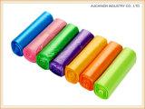 Настройка цвета LLDPE любого размера пластиковый мешок для мусора мусорный мешок