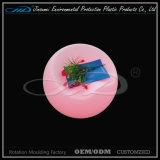 Табуретка штанги PE материальная вращательная отливая в форму освещенная пластмассой СИД