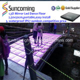 Neues Arrival 50X50cm Portable Infinite LED Dance Floor