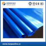 Rullo a doppio foglio della tela incatramata del PVC della fabbrica blu della Cina