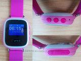 A tela de toque colorida GPS caçoa o relógio esperto com tecla Y5 do SOS