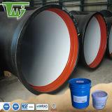 Sin disolventes de pintura epoxi para el suministro de agua potable tubería de acero