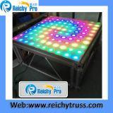 고품질 아크릴 Flatform를 가진 알루미늄 LED 단계 댄스 플로워