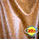Cuero ceroso de Microfiber del petróleo para la tapicería del sofá (1605#)