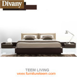 Colare il re Size Wooden Bed