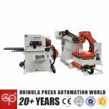 Máquina de automatização Nc Servo Straightener Alimentador e Uncoiler Use (MAC4-600F)