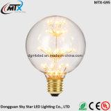 Luzes de cordas estreladas Economia de energia E14 Base Vela Luz C35 Lâmpada de cauda LED