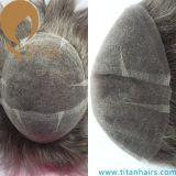 Toupee dei capelli del titano tutti i generi di Toupee dei capelli umani per gli uomini