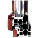 Revêtement en poudre Profil en aluminium pour mur-rideau