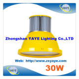 Yaye 18 Best Sell Low Price COB 20W / 30W LED Pendant Lamp / LED Pendant Light com 3 anos de garantia