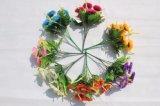 結婚式のホーム装飾のための人工花の菊の偽造品の花