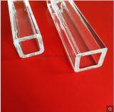 Tubo di vetro libero di lucidatura ottico spesso del quarzo di rettangolo