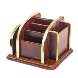 Soporte de almacenamiento de múltiples funciones de madera extraíble para uso doméstico con chasis