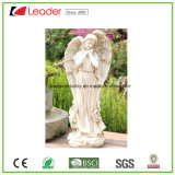 Polyresin 베스트셀러 큰 적절한 Whippet 동상 그레이하운드 정원 조각품