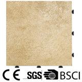 Fácil instalar y azulejo de suelo al aire libre de la porcelana del Decking de Removeable con la base del PE