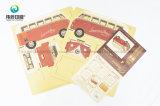 Collant de papier fait sur commande d'adhésif d'étiquette d'impression de qualité en gros