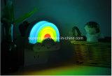 소형 무지개 Voice&Light 센서 통제 램프