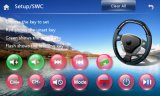 Ajuste 2014 de la mueca de dolor 6.0 2015 coches GPS con la conexión de radio del espejo 3G del RDS del iPod de BT SWC para Honda