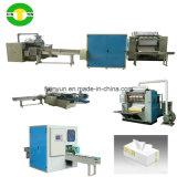 Caja automática de papel de tejido facial que hace la línea de producción de la máquina Precio