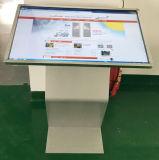LCD 위원회 Touchscreen 또는 영상 선수 접촉 스크린 간이 건축물을 서 있는 50 인치 지면