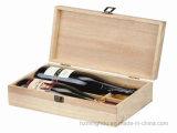 contenitore di regalo impaccante del vino di legno di memoria del pino 6-Bottle