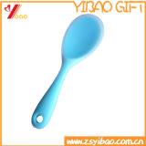 Lepel de Van uitstekende kwaliteit van het Product van het Silicone van het Embleem van de douane (yb-u-82)