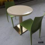 Table à manger moderne en résine en pierre pour meubles de salon (1200X600mm)