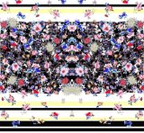 Tela 100% do poliéster da tela da impressão de matéria têxtil de Digitas (PF-043)