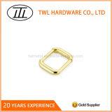 青銅色の正方形亜鉛合金の金属のバックル