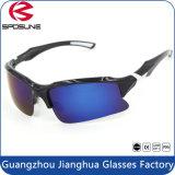 Ce fr certifié couleur noire ininterrompue des lunettes de sport pour les hommes