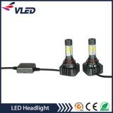 Farol do diodo emissor de luz dos bulbos H4 H7 9006 do farol do diodo emissor de luz da ESPIGA de V8s 40W auto